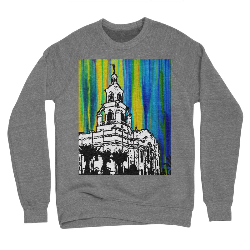 Tijuana Temple Women's Sweatshirt by Lance Olson Art