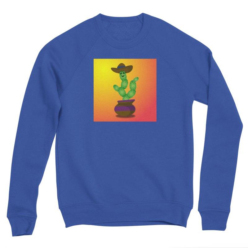 Happy Cactus Women's Sweatshirt by Lance Olson Art