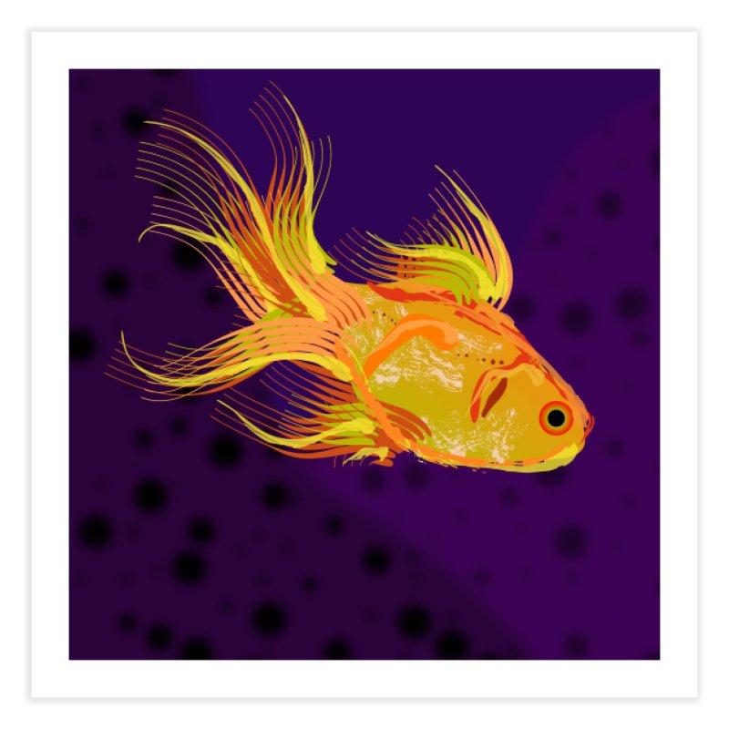 Swiming Fish Home Fine Art Print by Lance Olson Art