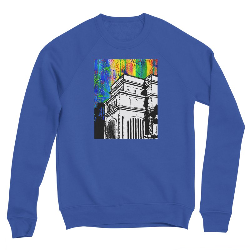 Hong Kong Temple Women's Sweatshirt by Lance Olson Art