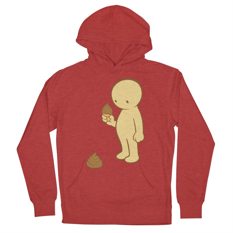 Chocolate Flavor Men's Pullover Hoody by landhell's Artist Shop