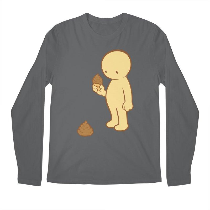 Chocolate Flavor Men's Longsleeve T-Shirt by landhell's Artist Shop