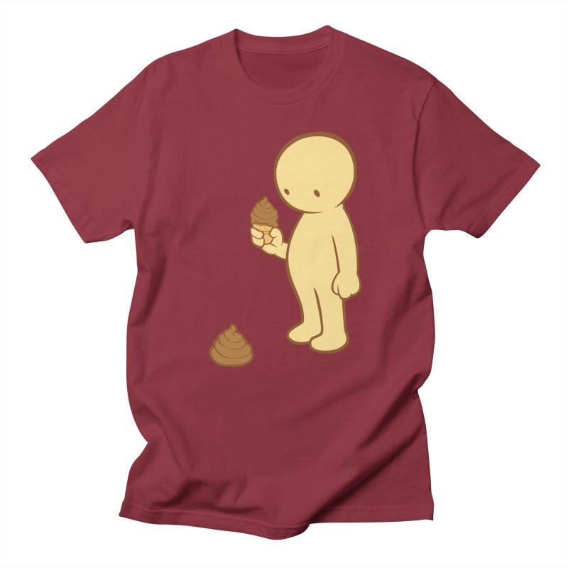 Chocolate Flavor Men's T-Shirt by landhell's Artist Shop