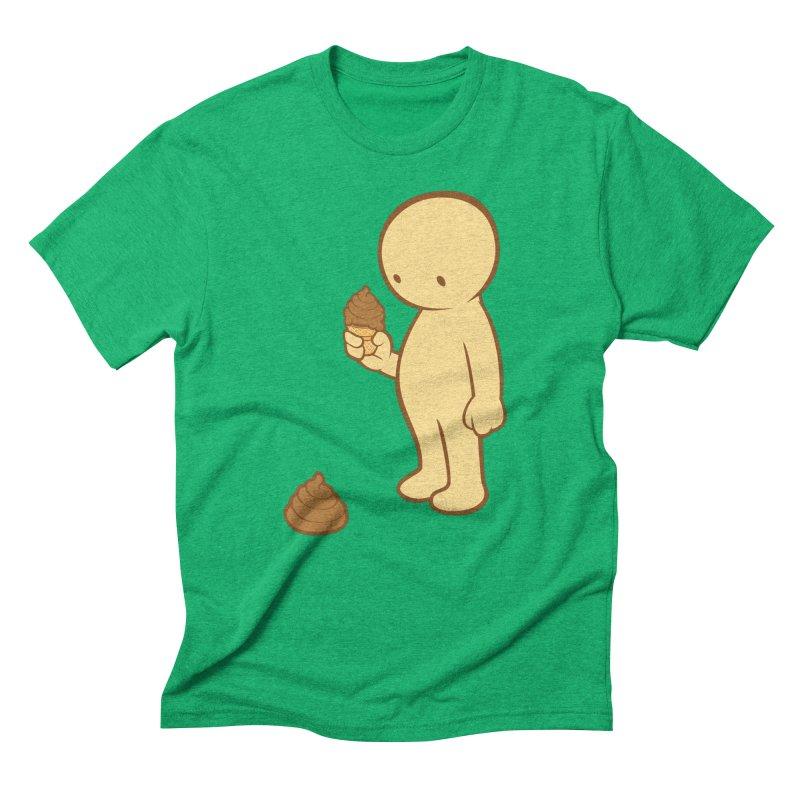 Chocolate Flavor Men's Triblend T-Shirt by landhell's Artist Shop