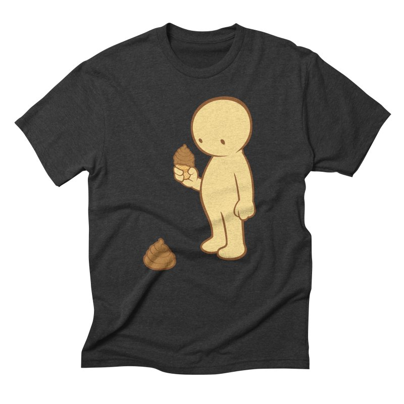 Chocolate Flavor Men's Triblend T-Shirt by landhell's Artist Shop