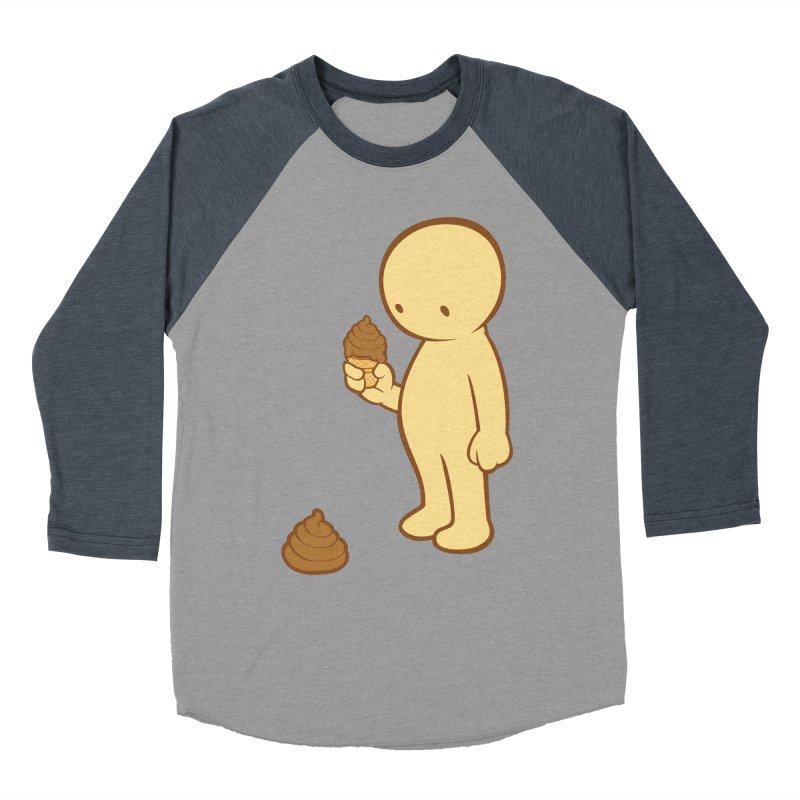 Chocolate Flavor Women's Baseball Triblend T-Shirt by landhell's Artist Shop