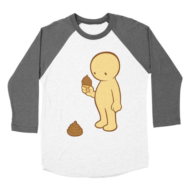 Chocolate Flavor Men's Baseball Triblend T-Shirt by landhell's Artist Shop