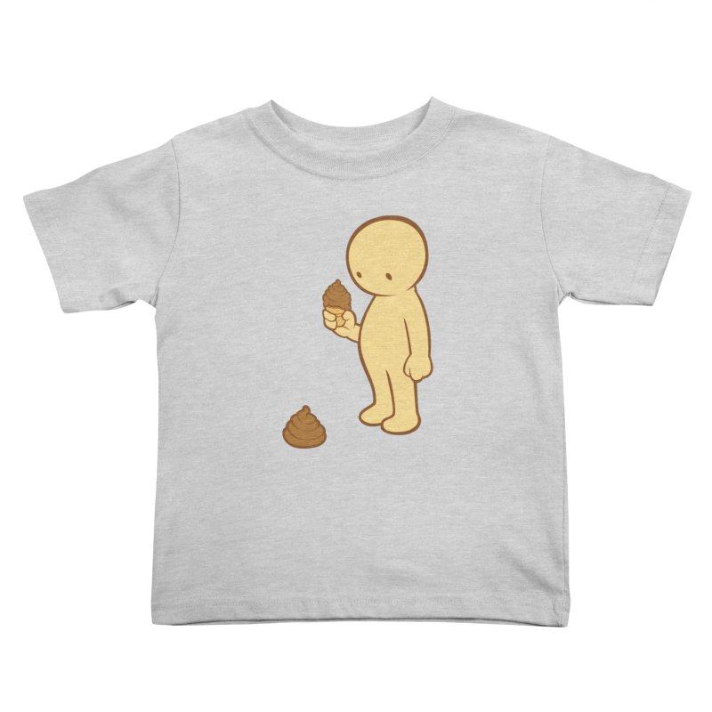 Chocolate Flavor Kids Toddler T-Shirt by landhell's Artist Shop