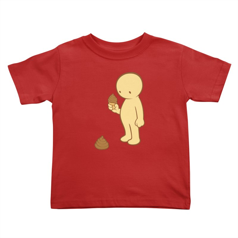 Chocolate Flavor Kids Toddler T-Shirt by landhell's Artist Shop
