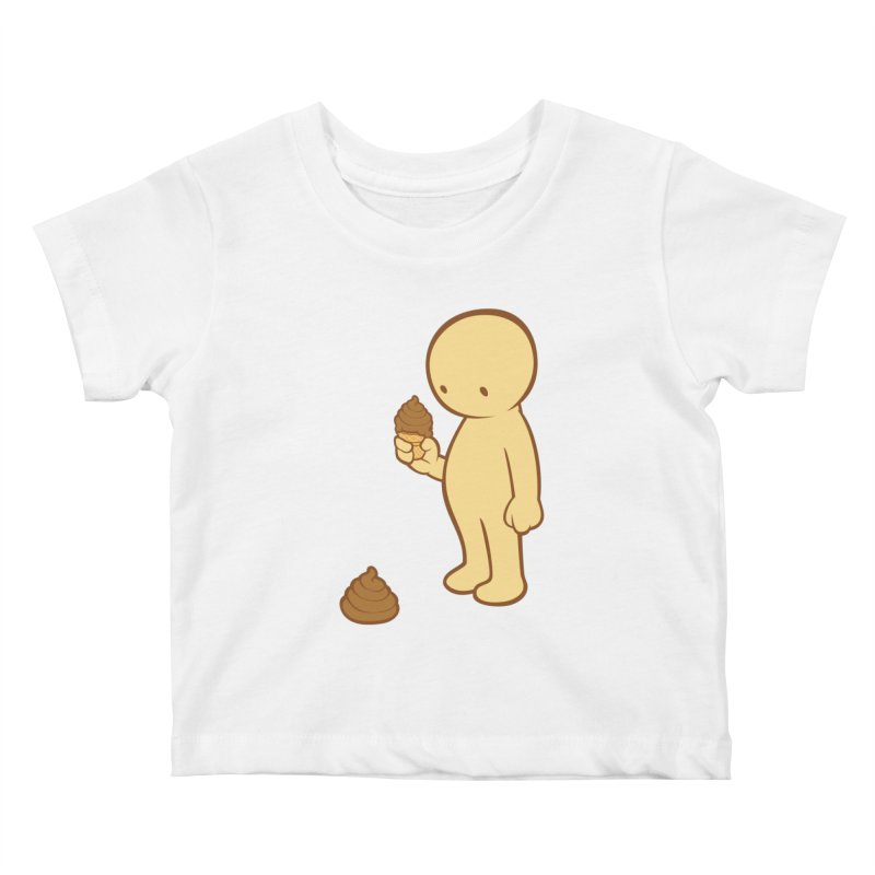 Chocolate Flavor Kids Baby T-Shirt by landhell's Artist Shop