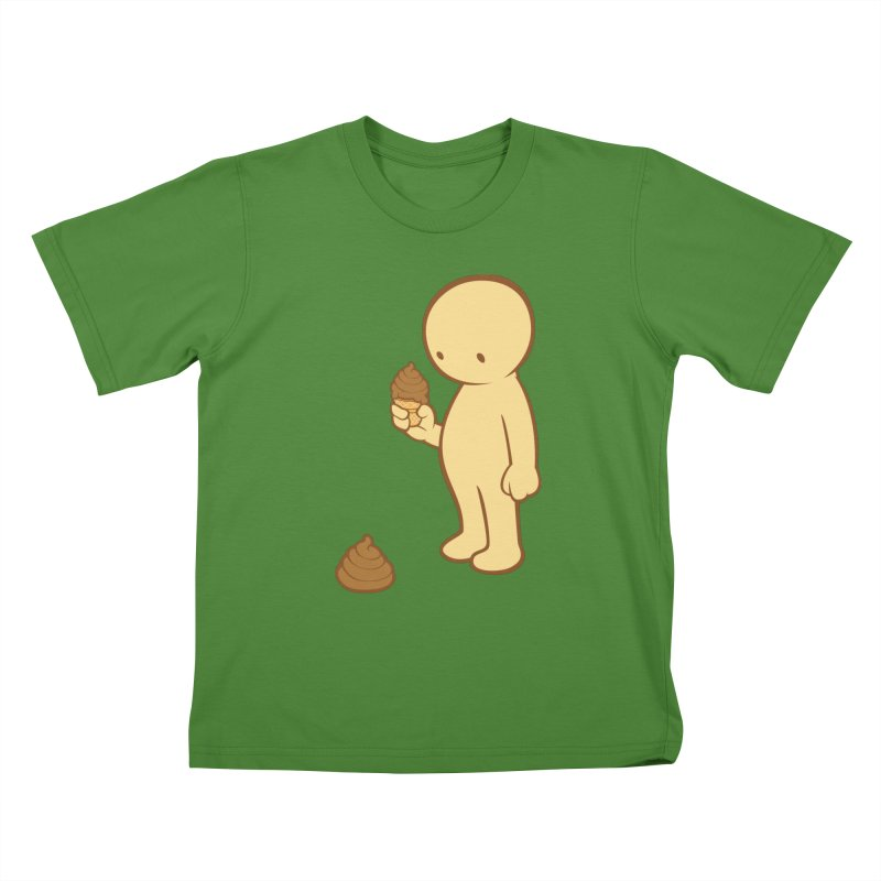 Chocolate Flavor Kids T-Shirt by landhell's Artist Shop
