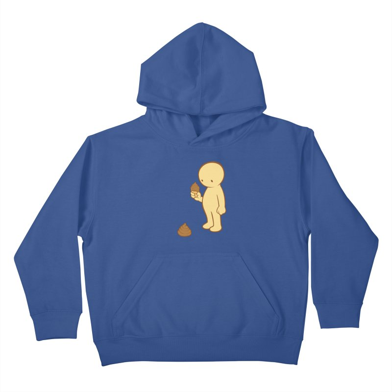 Chocolate Flavor Kids Pullover Hoody by landhell's Artist Shop