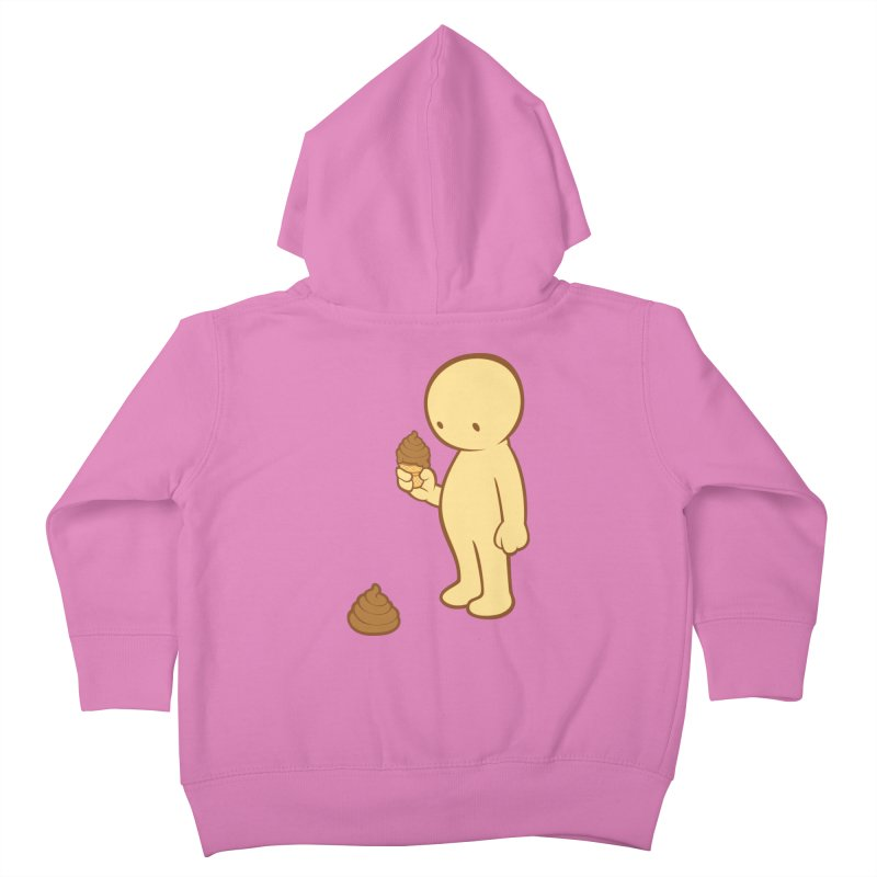 Chocolate Flavor Kids Toddler Zip-Up Hoody by landhell's Artist Shop