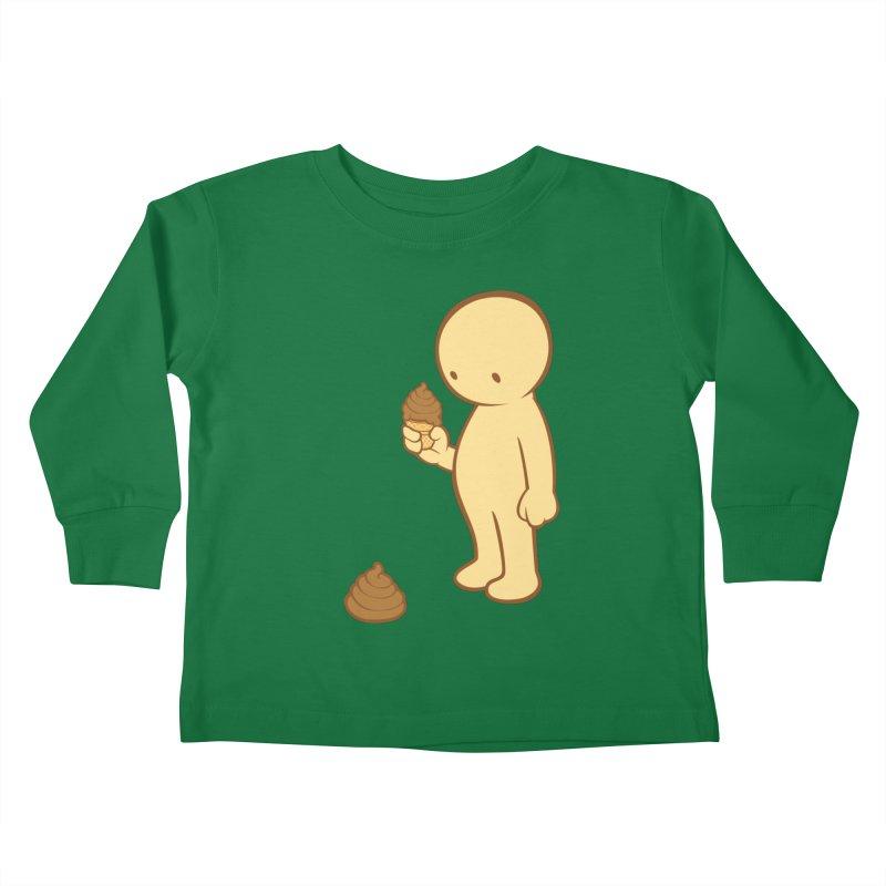 Chocolate Flavor Kids Toddler Longsleeve T-Shirt by landhell's Artist Shop