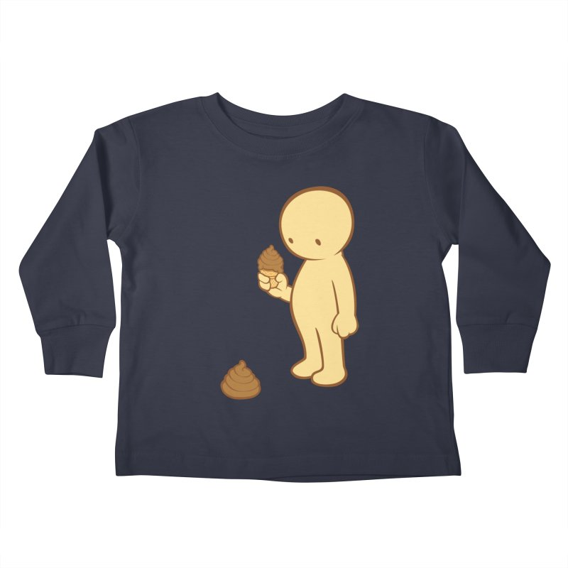 Chocolate Flavor Kids Toddler Longsleeve T-Shirt by landhell's Artist Shop