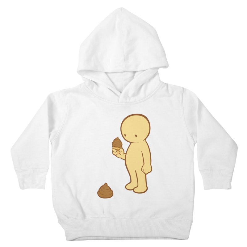 Chocolate Flavor Kids Toddler Pullover Hoody by landhell's Artist Shop