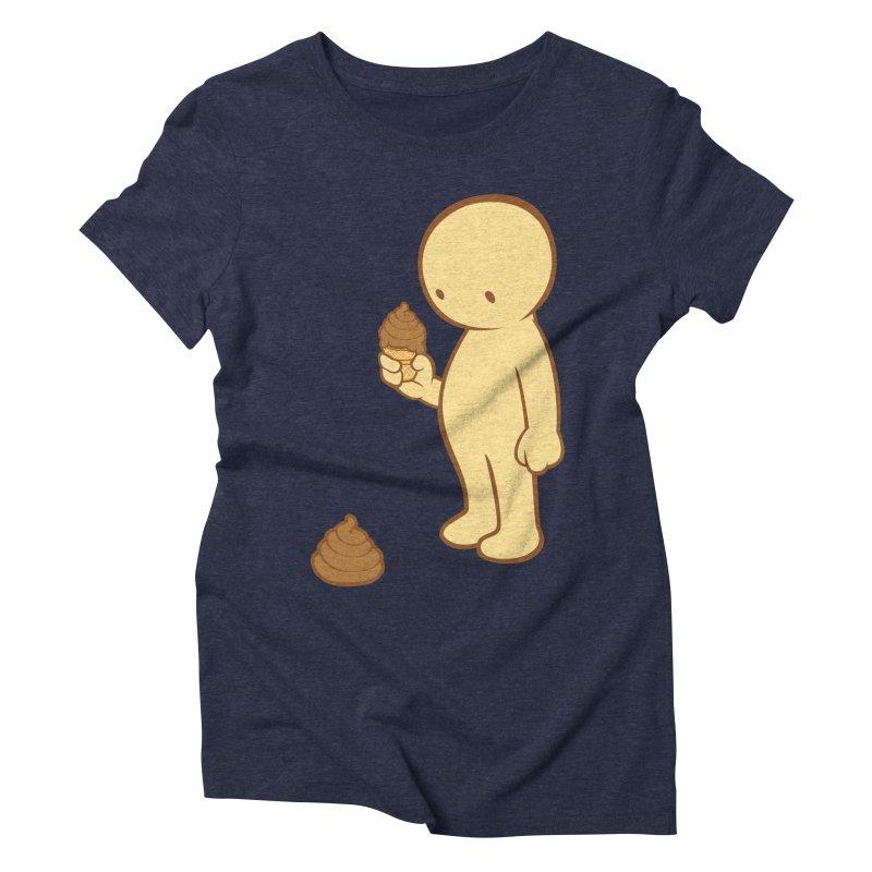 Chocolate Flavor Women's Triblend T-shirt by landhell's Artist Shop