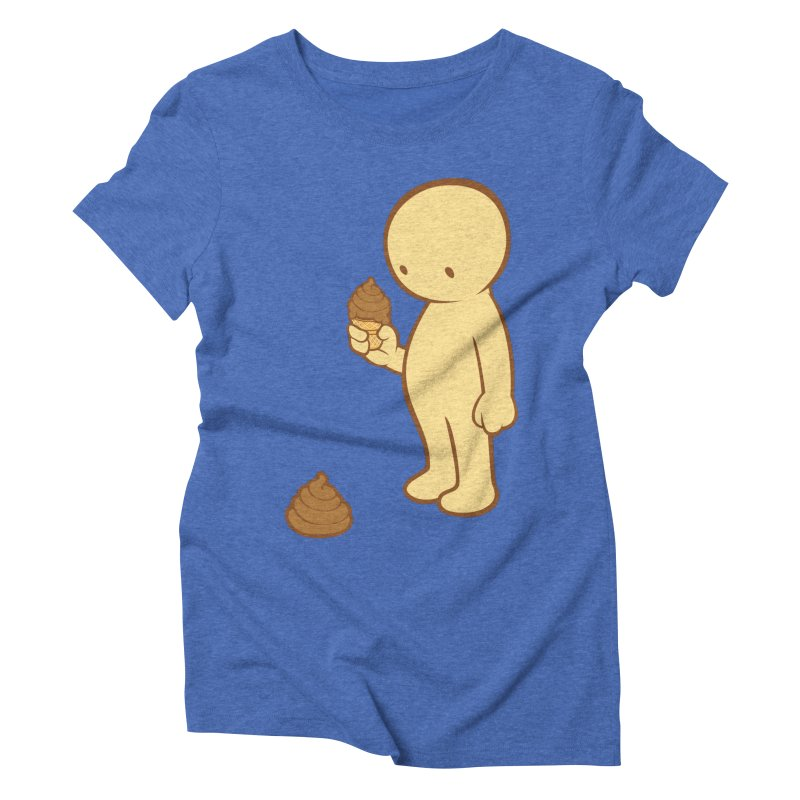 Chocolate Flavor Women's Triblend T-shirt by landhell's Artist Shop