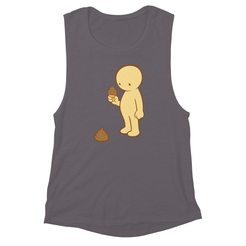 Chocolate Flavor Women's Muscle Tank by landhell's Artist Shop