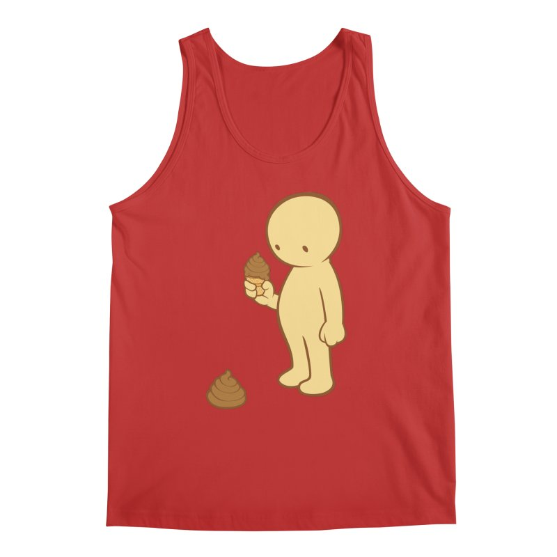 Chocolate Flavor Men's Tank by landhell's Artist Shop
