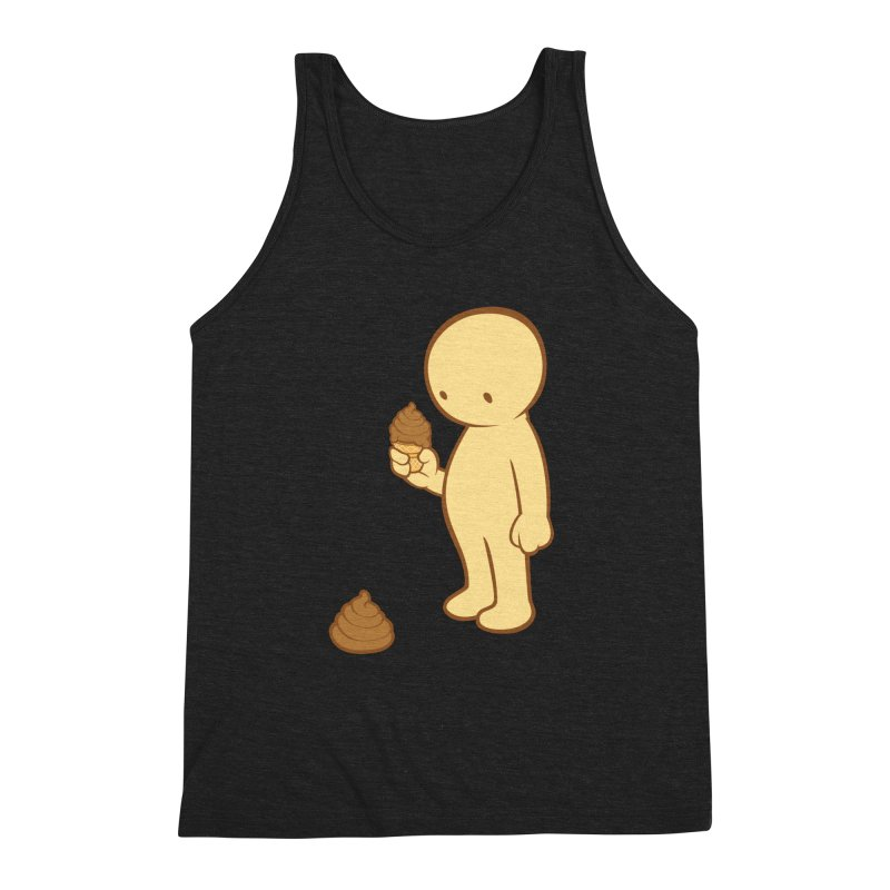 Chocolate Flavor Men's Triblend Tank by landhell's Artist Shop