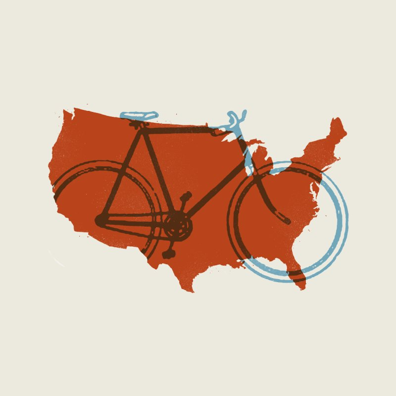 Bike America by landonsheely's Artist Shop