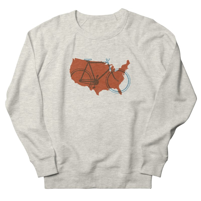 Bike America Men's Sweatshirt by landonsheely's Artist Shop