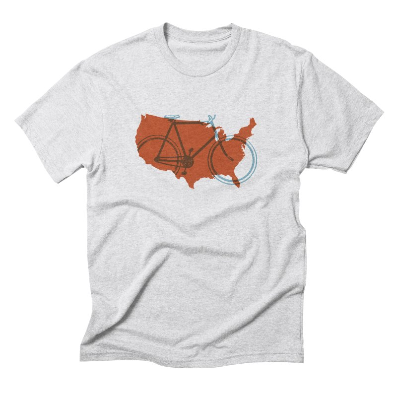 Bike America Men's Triblend T-Shirt by landonsheely's Artist Shop