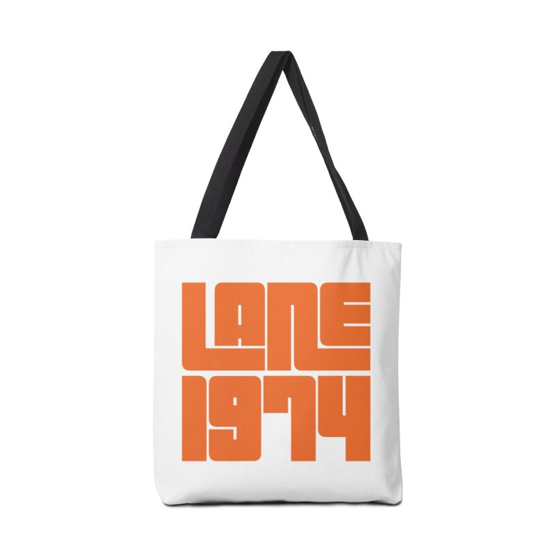 Lane 1974 - Orange  Accessories Bag by Lane 1974's Shirt Shop