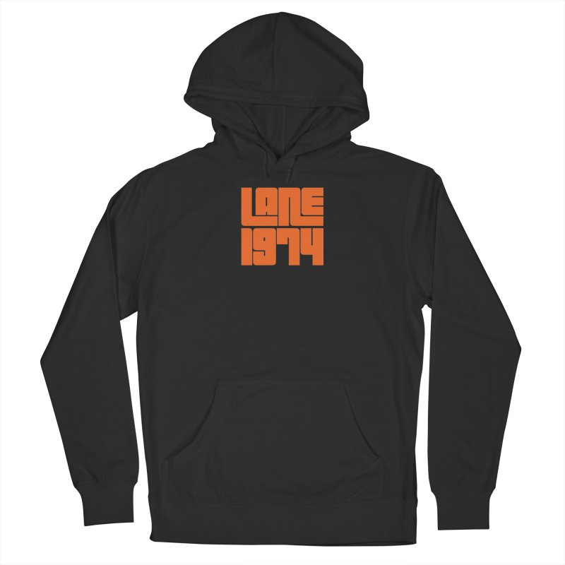 Lane 1974 - Orange  Men's Pullover Hoody by Lane 1974's Shirt Shop