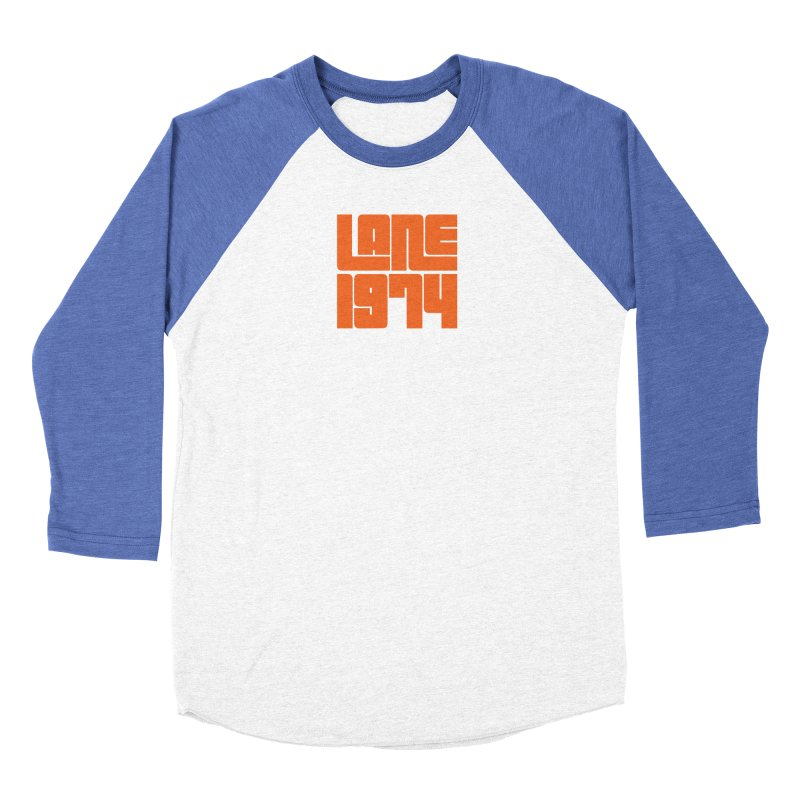 Lane 1974 - Orange  Women's Longsleeve T-Shirt by Lane 1974's Shirt Shop