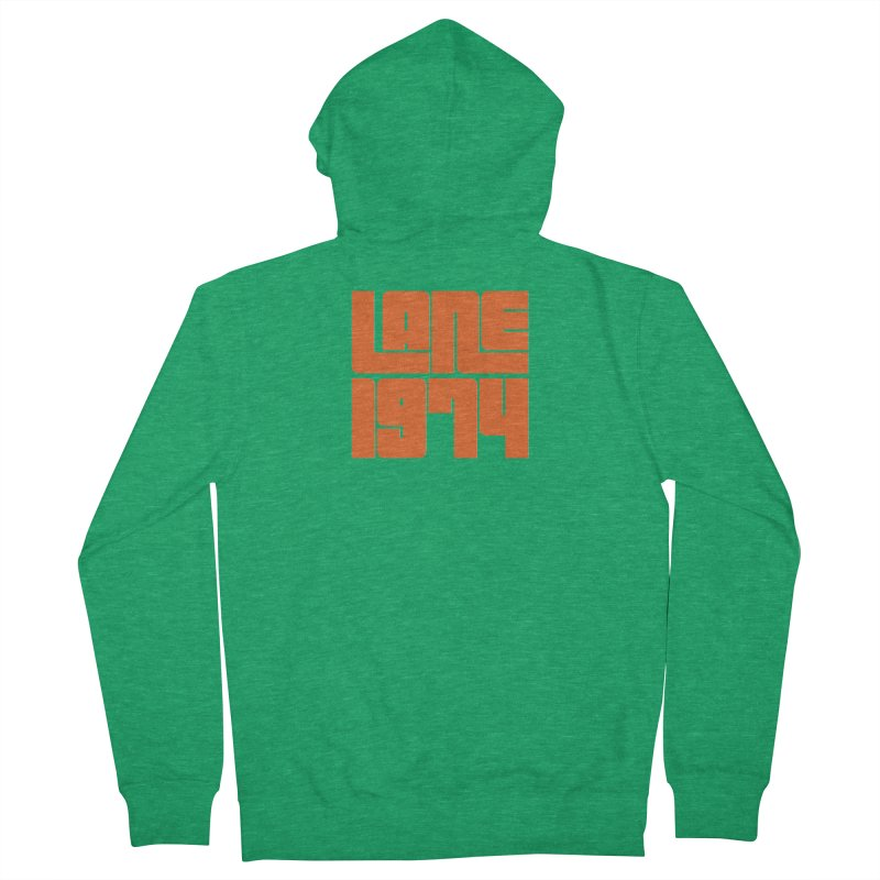 Lane 1974 - Orange  Men's Zip-Up Hoody by Lane 1974's Shirt Shop