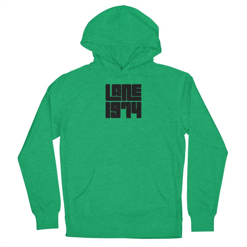 Lane 1974 - Black Men's Pullover Hoody by Lane 1974's Shirt Shop