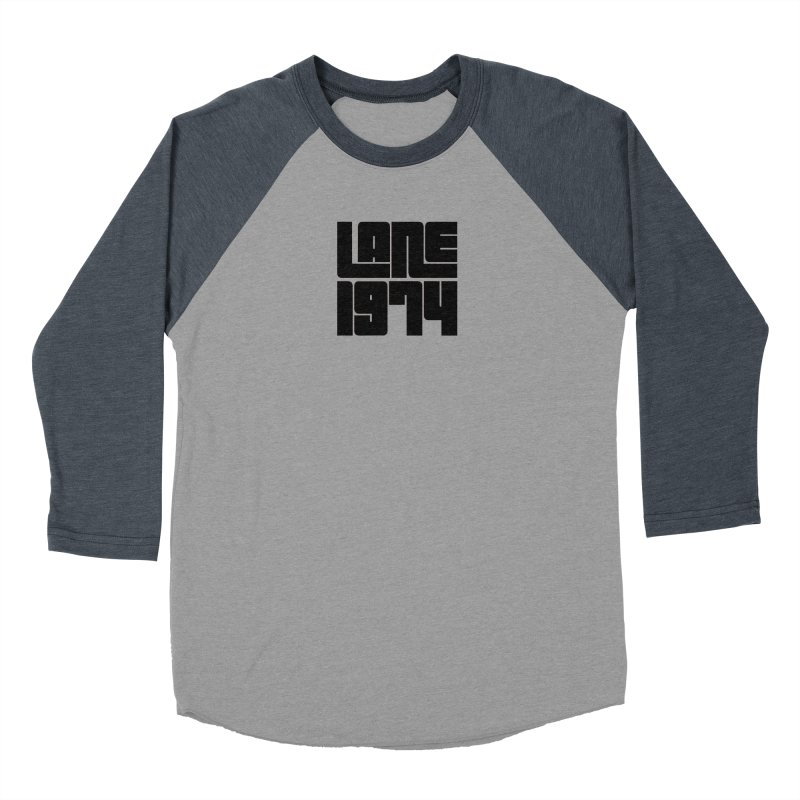 Lane 1974 - Black Men's Longsleeve T-Shirt by Lane 1974's Shirt Shop