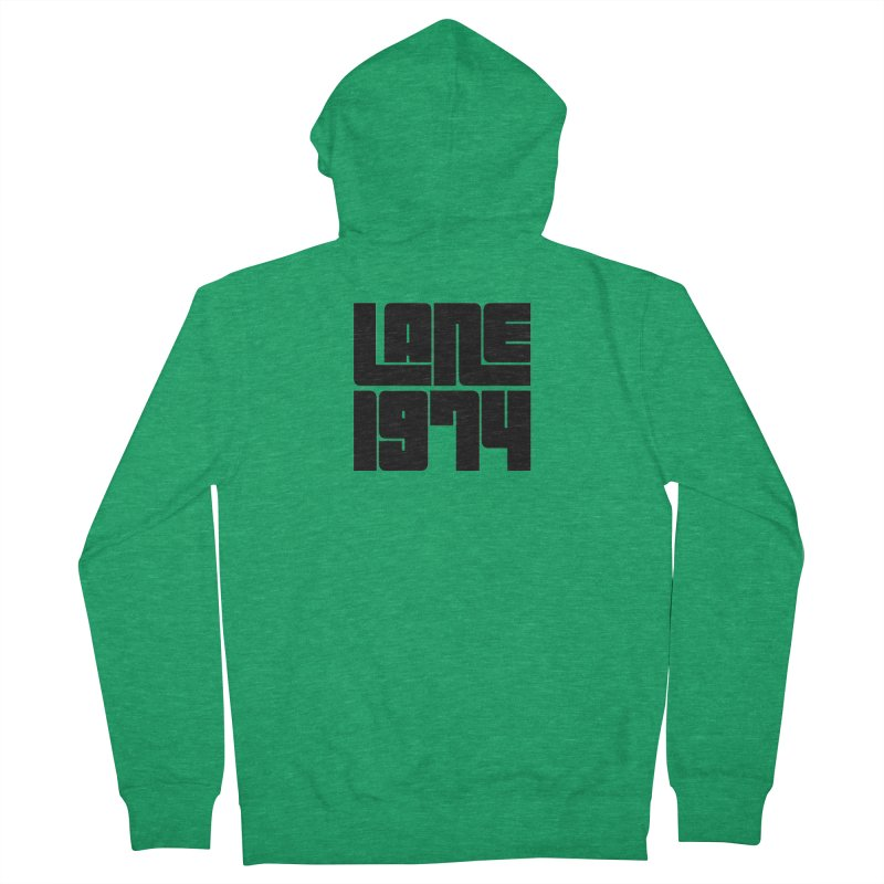 Lane 1974 - Black Women's Zip-Up Hoody by Lane 1974's Shirt Shop