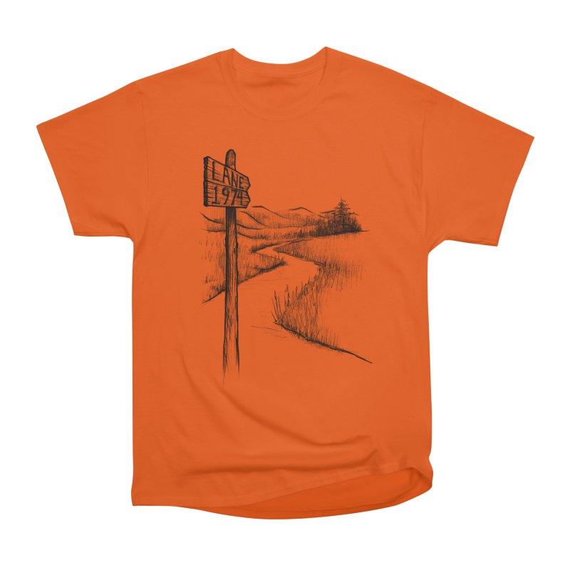 Lane 1974 Sign Post Design Women's T-Shirt by Lane 1974's Shirt Shop