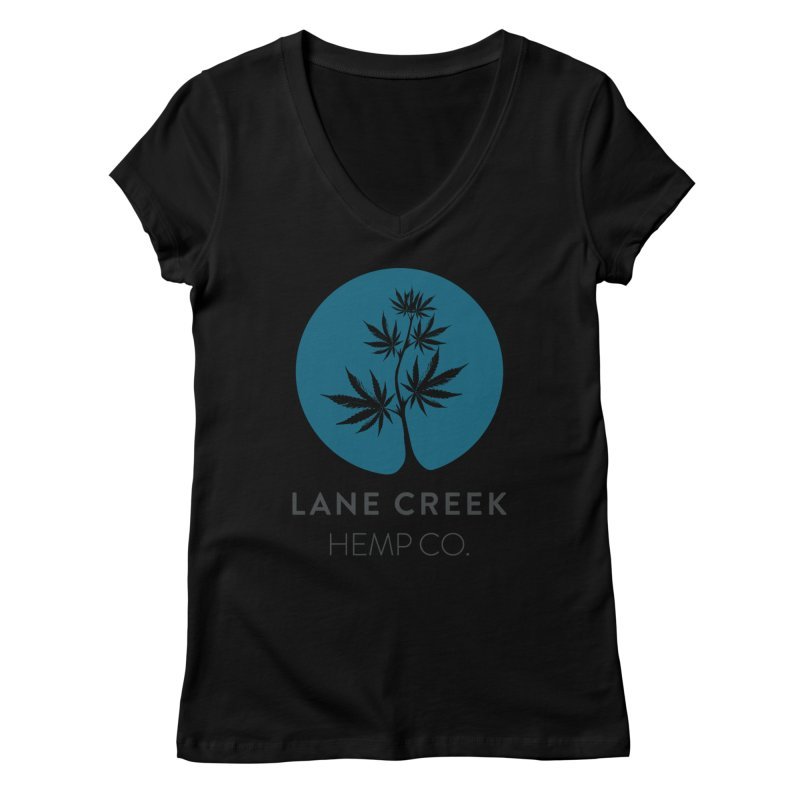 Flavored Women's V-Neck by Lane Creek Hemp's Artist Shop