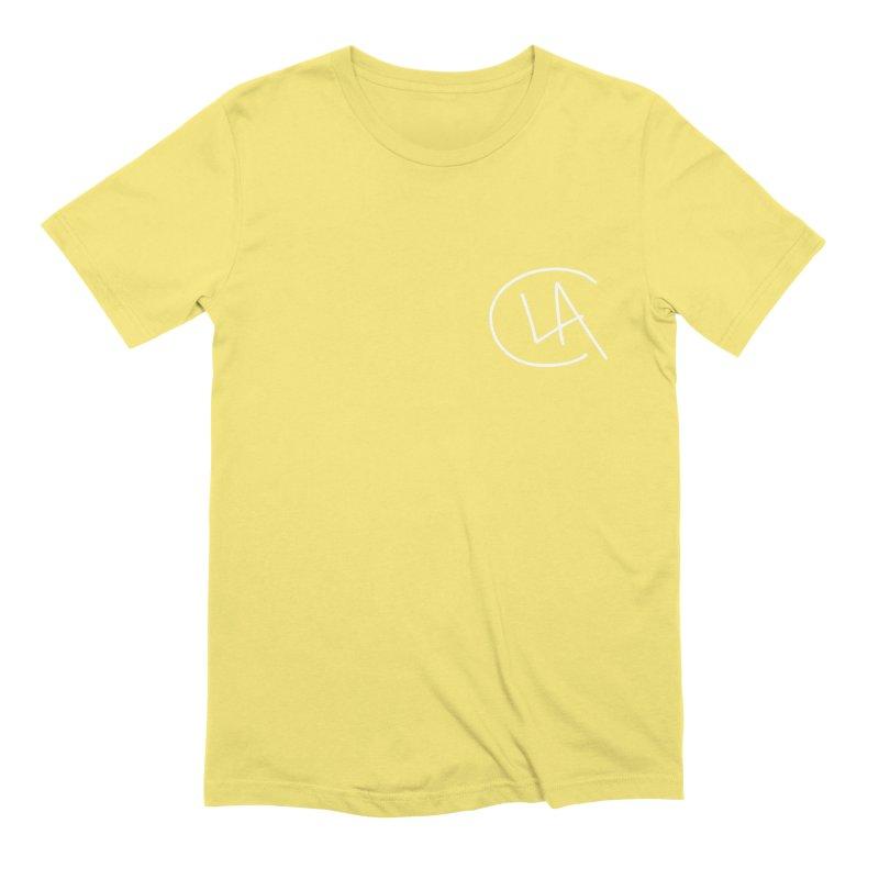 LA Initial Men's T-Shirt by larryanthony's Artist Shop