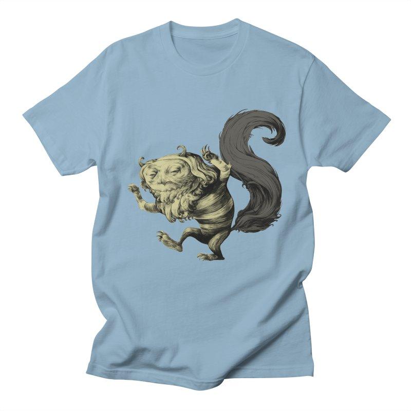 Wild Thing in Men's Regular T-Shirt Light Blue by lars's Artist Shop