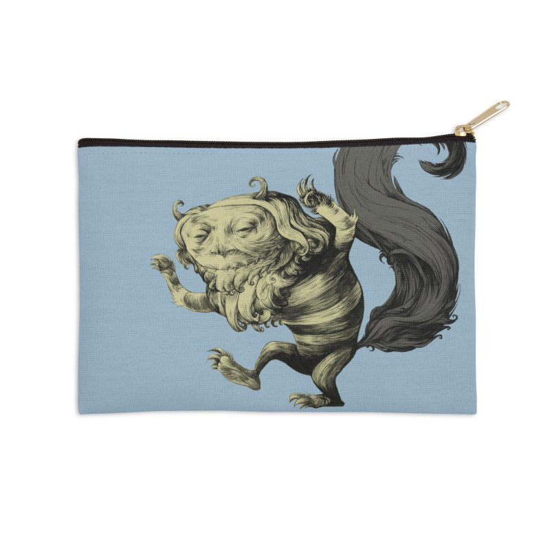 Wild Thing in Zip Pouch by lars's Artist Shop