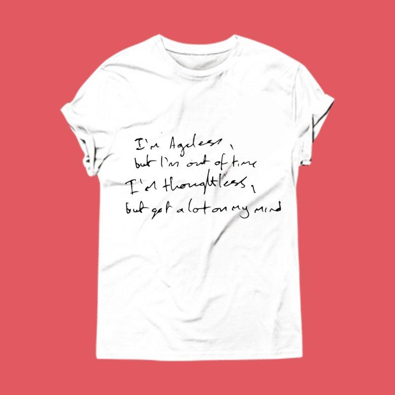 I'm Ageless, But I'm Out of Time   by L.A. Salami –– Artist Shop