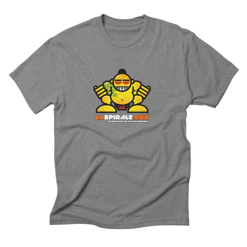 """""""Samurai Robot"""" by LaSpirale.org Men's Triblend T-shirt by La Spirale"""