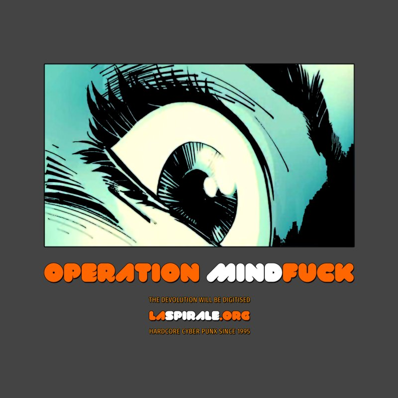 """Operation MindFuck"" by LaSpirale.org Men's Triblend T-Shirt by La Spirale"