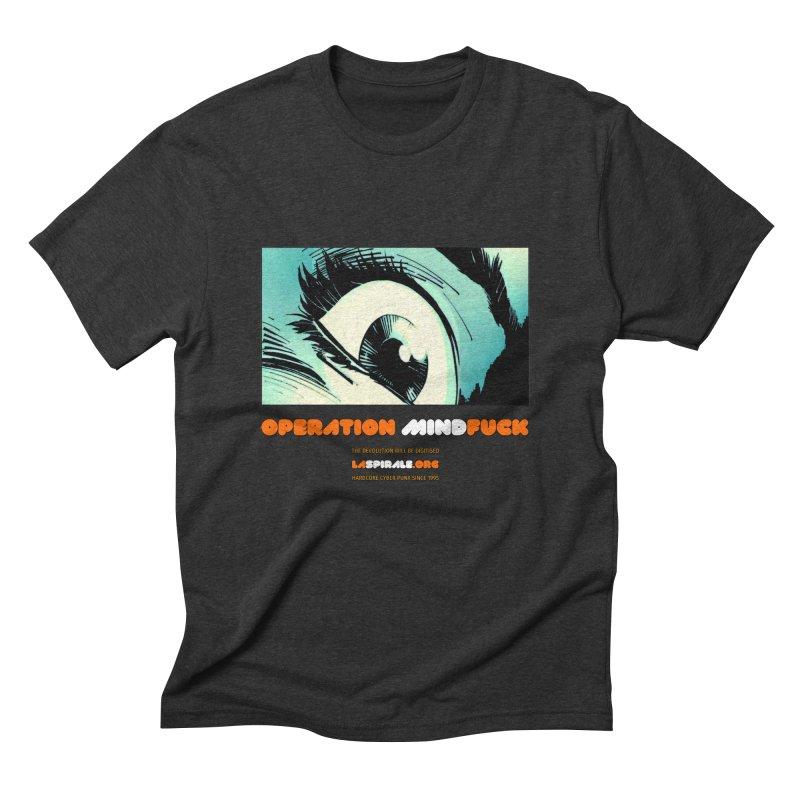 """Operation MindFuck"" by LaSpirale.org Men's T-Shirt by La Spirale"