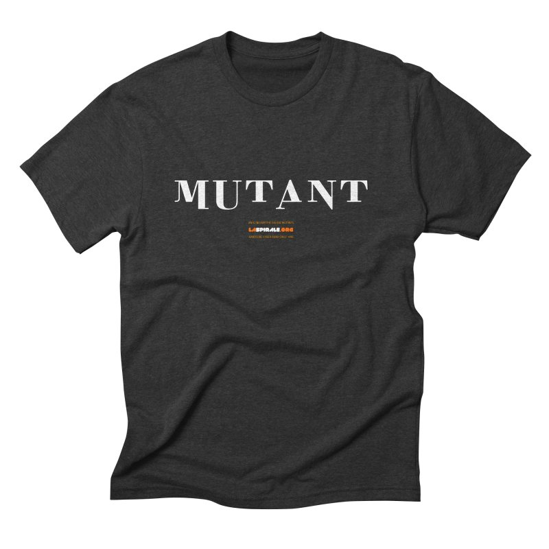 """Mutant"" by LaSpirale.org Men's Triblend T-Shirt by La Spirale"