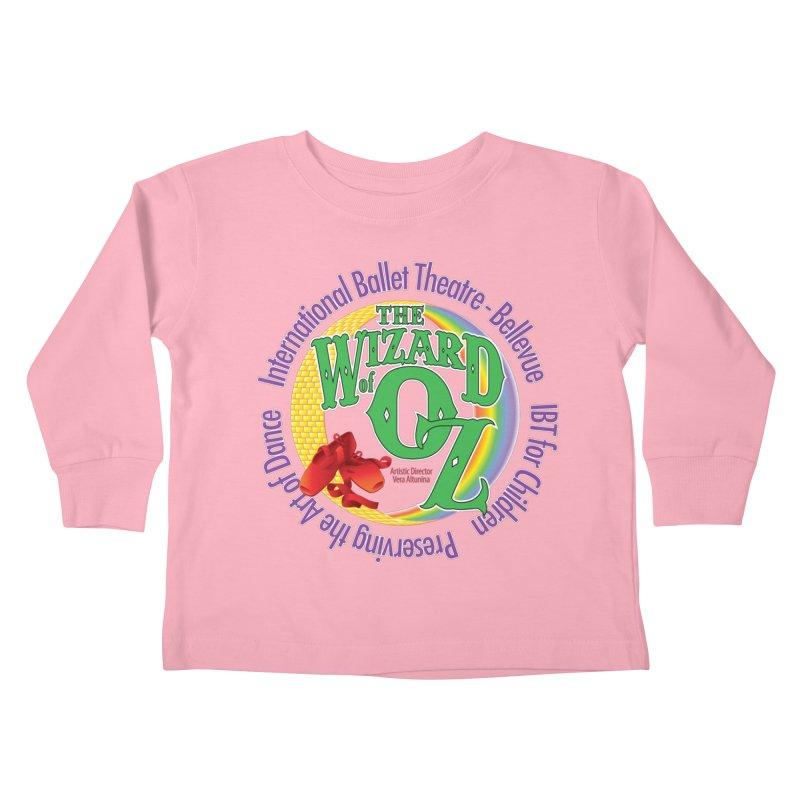 Wizard of Oz-IBA Kids Toddler Longsleeve T-Shirt by Last Door on the Left
