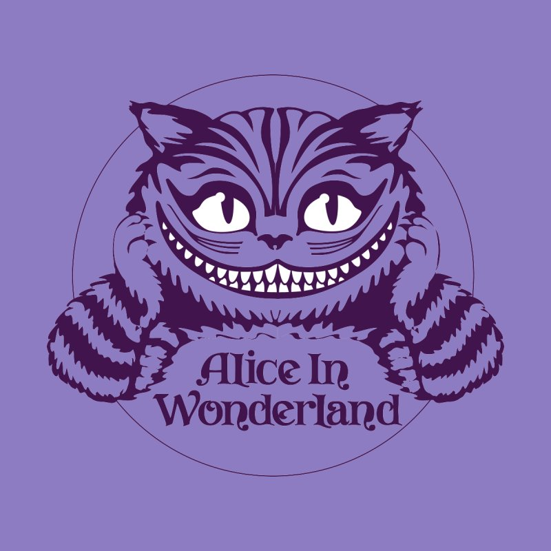 Alice in Wonderland - Cheshire Cat Men's T-Shirt by Last Door on the Left