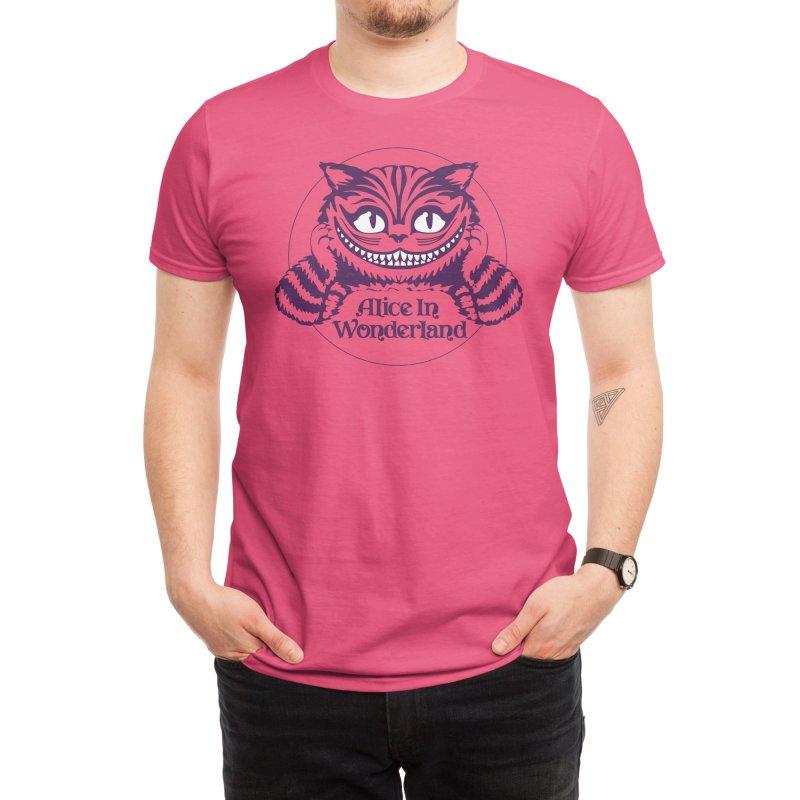 Alice in Wonderland - Cheshire Cat Men's T-Shirt by Last Door on the Left