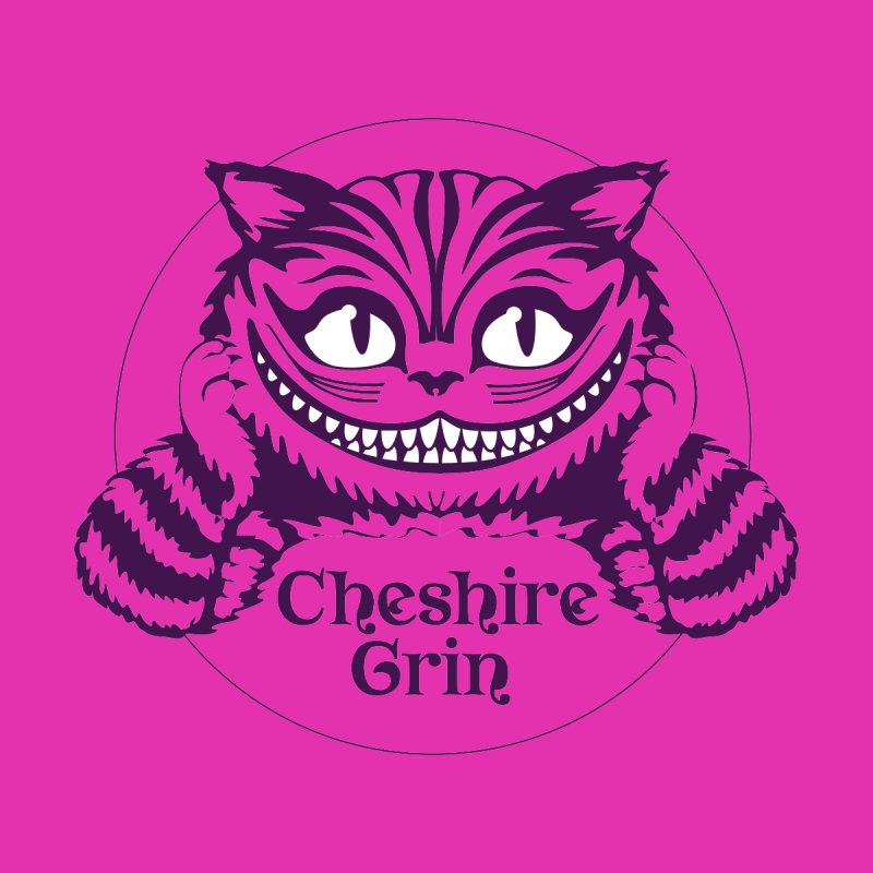 Cheshire Grin Accessories Mug by Last Door on the Left