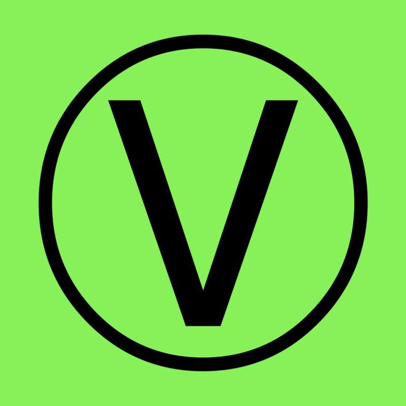V is Vegetarian Men's T-Shirt by Last Door on the Left